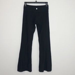 Lululemon reversible groove pants
